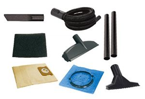 wet and dry vacuum cleaner -- attachments