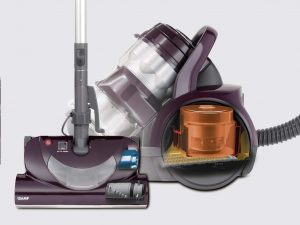 kenmore vacuum cleaners -- bagless canister