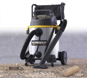 wet and dry vacuum cleaner -- workshop