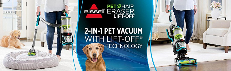 Bissell Pet Hair Eraser Lift-Off Upright – The Review