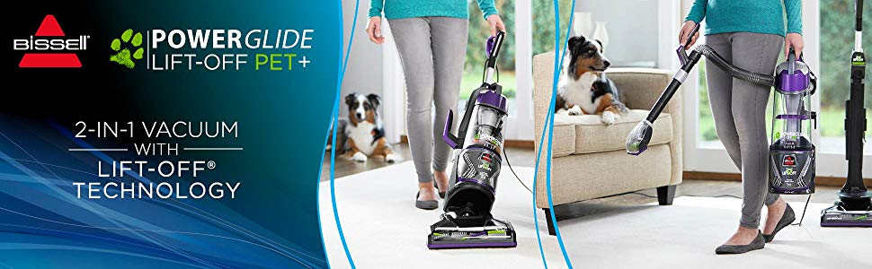 Bissell Power Glide Lift-Off Pet Upright – The Review