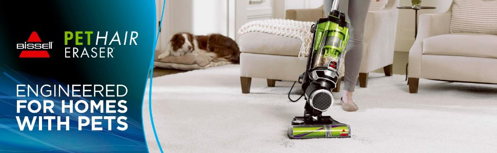 Bissell Pet Hair Eraser Upright Vacuum – In-depth Review