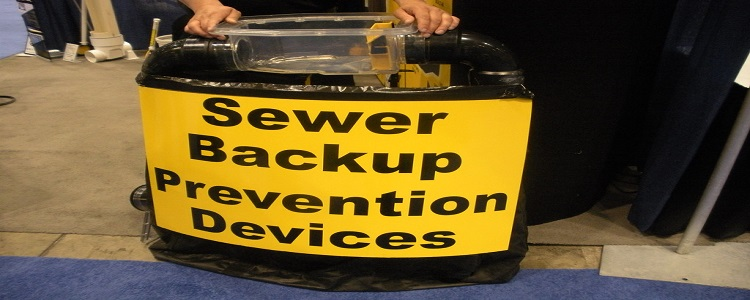 how to clean sewer backup in basement