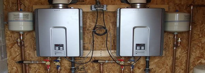 clean a tankless water heater
